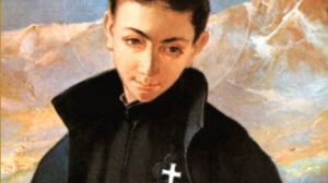 St. Gabriel of the Sorrowful Mother, patron of youth