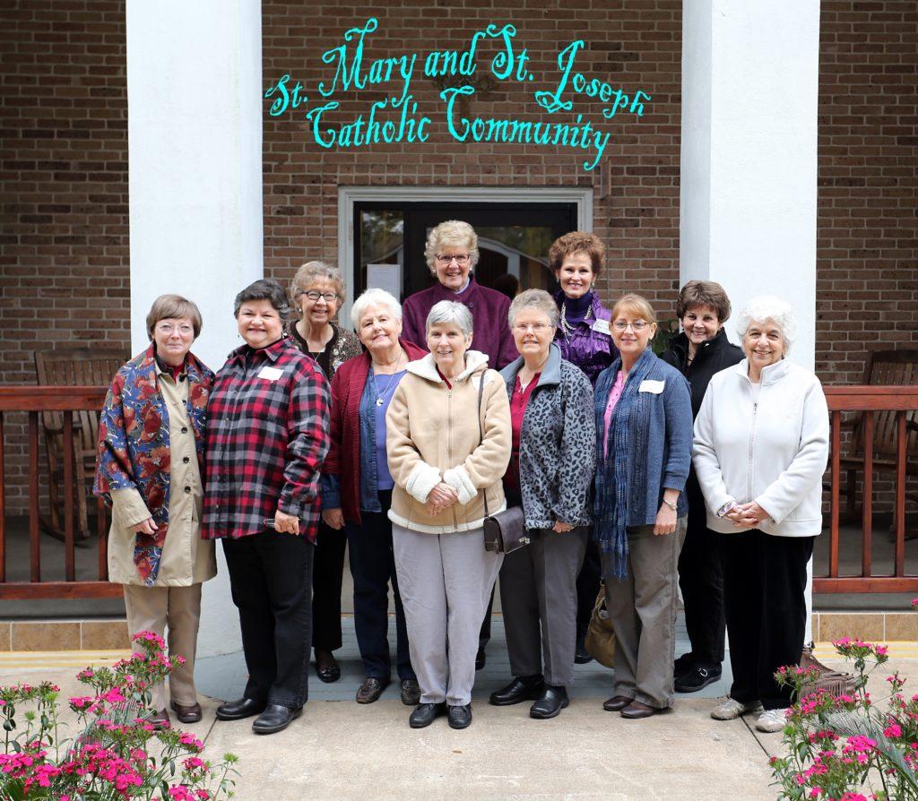 Catholic Women's Retreat, February 28, 2015-Sts Mary and Joseph