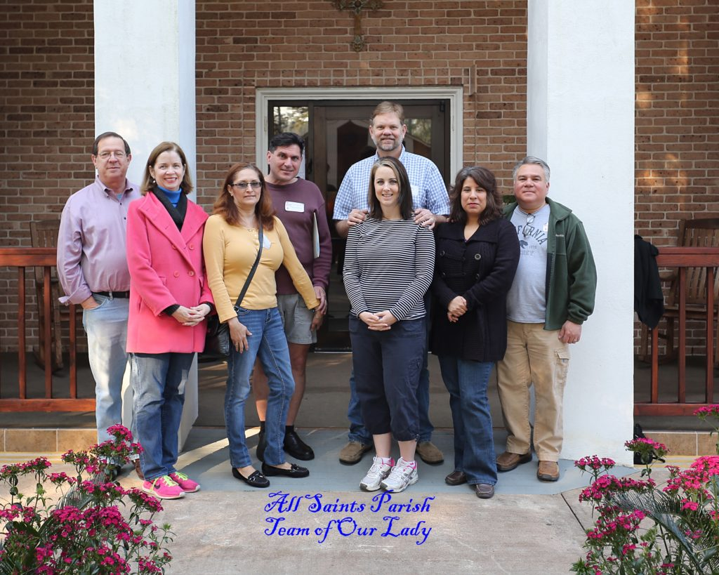 Married Couples Retreat, Feb. 13-15 2015-All Saints Parish, Team of Our Lady