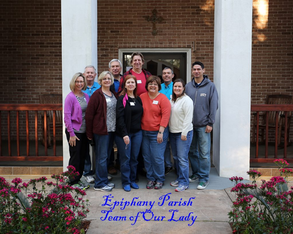 Married Couples Retreat, Feb. 13-15 2015-Epiphany  Parish, Team of Our Lady