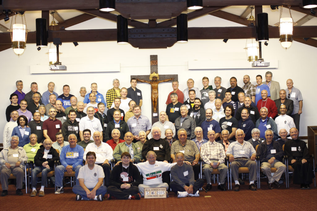 Italian Men's Retreat May 15-17 2015