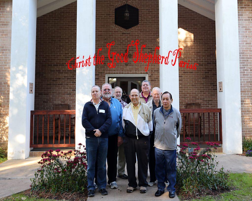 Men's Catholic Retreat, Feb. 6-8 2015-Christ the Good Shepherd Parish