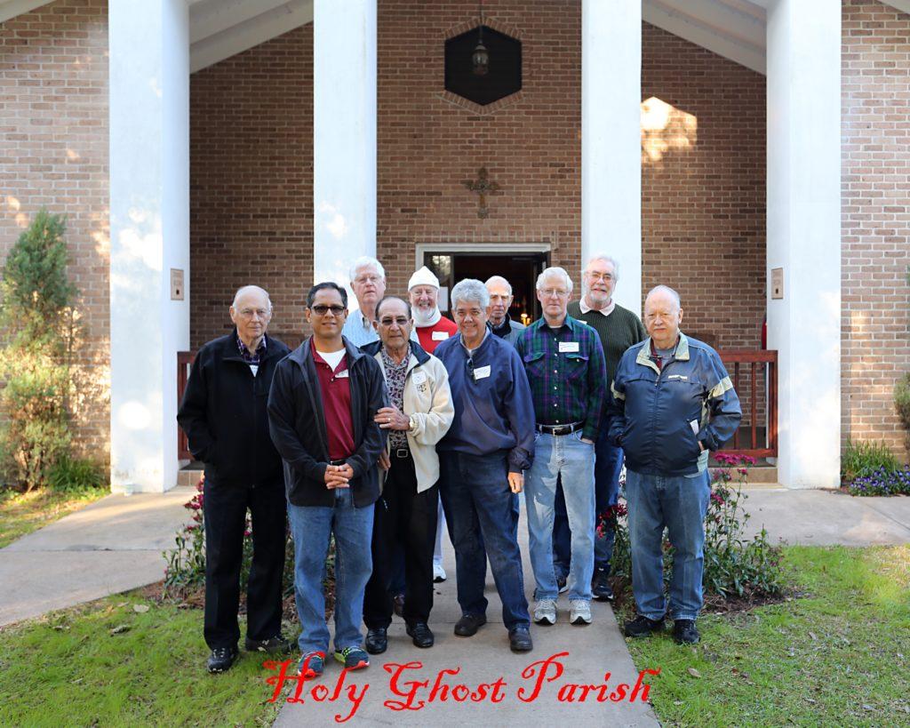 Men's Catholic Retreat, Feb. 6-8 2015-Holy Ghost Parish