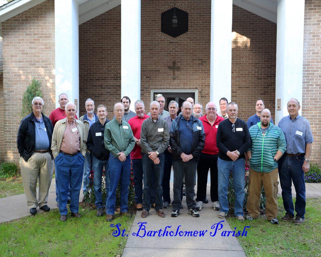 Men's Catholic Retreat, Feb. 6-8 2015-St Bartholomew Parish