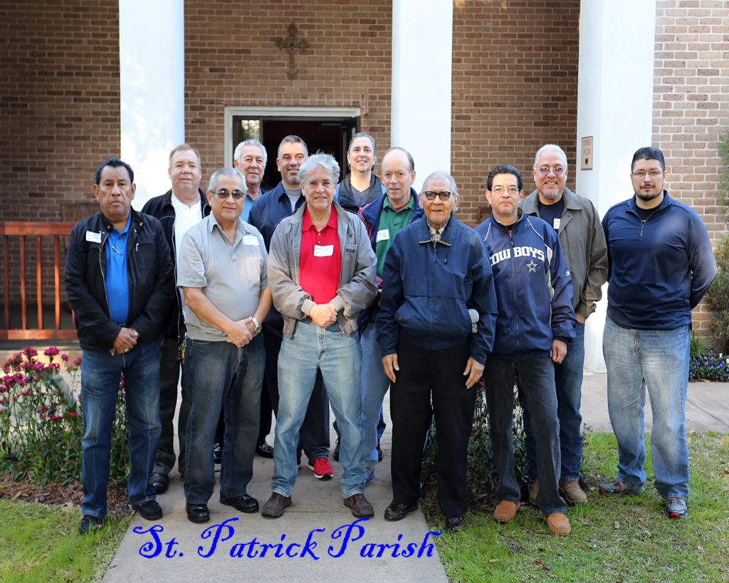 Men's Catholic Retreat, Feb. 6-8 2015-St Patrick Parish