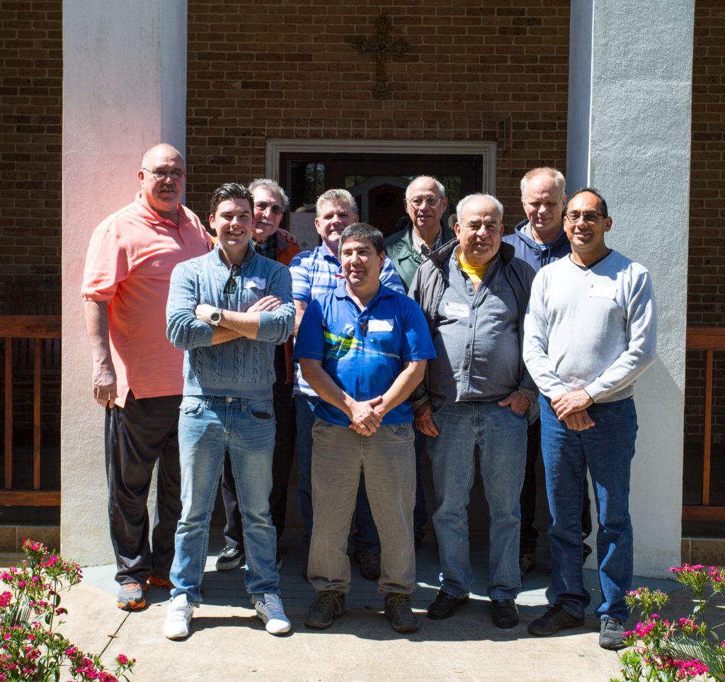 Men's Retreat, March 13-15, 2015-St Mary, Texas City