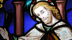 Jesus-stained glass