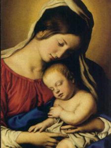 Madonna and Child Vert