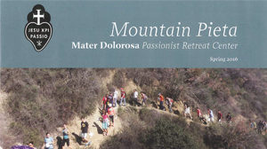 Mountain Pieta Newsletter