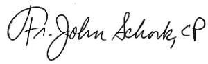 Fr-John-Schork-Signature