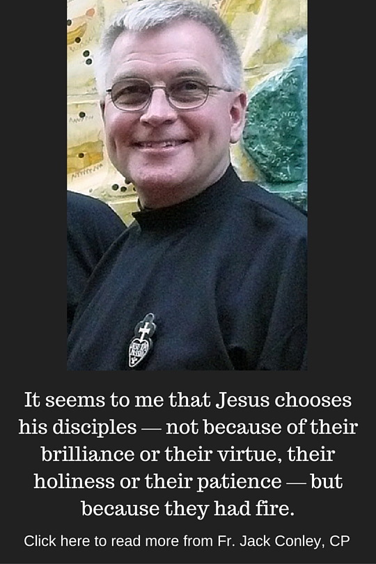 Click here to read more from Fr. Jack Conley, CP