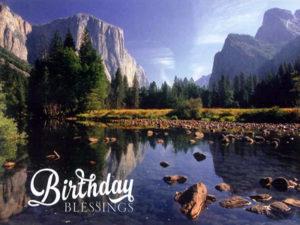 Birthday Scenic - front