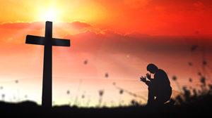 sunrise-praying