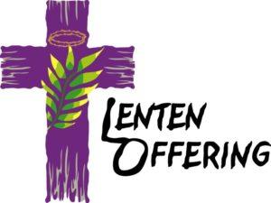 Lenten Offering