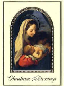 5-Christmas Maddona and Child-front