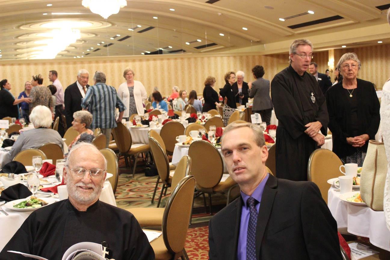 Fr. Eric Meyer, CP, and Gary Thim.
