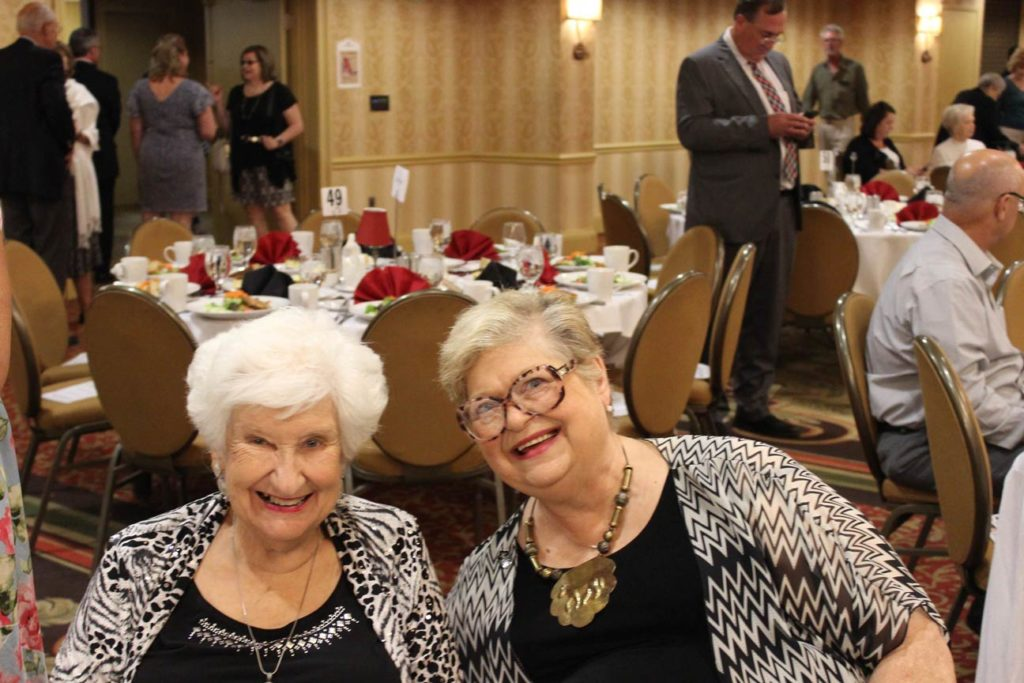 Mary Anne Kaelin and Kay Woodworth.