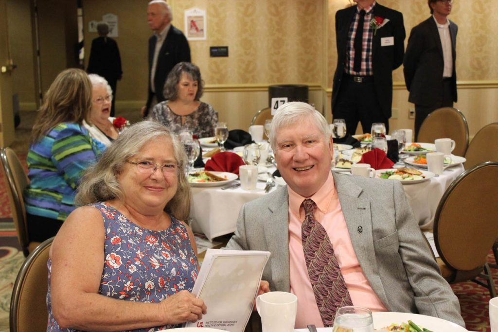 Mary Rita and Terry McDevitt.
