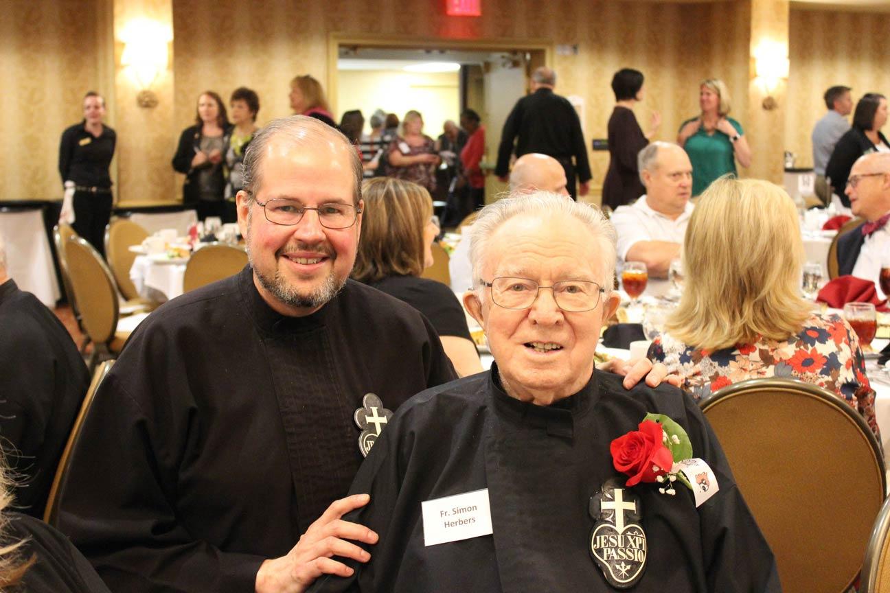 Br. Kurt Wernert, CP, and Fr. Simon Herbers, CP.