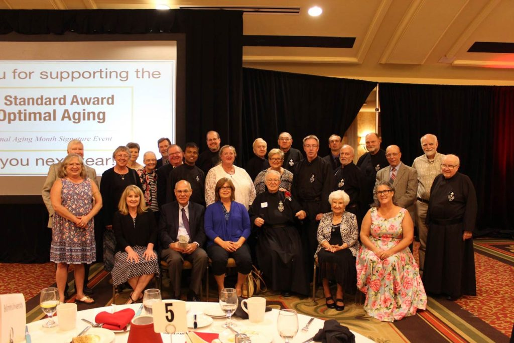 Group photo of the Passionist Family who were able to attend the luncheon.