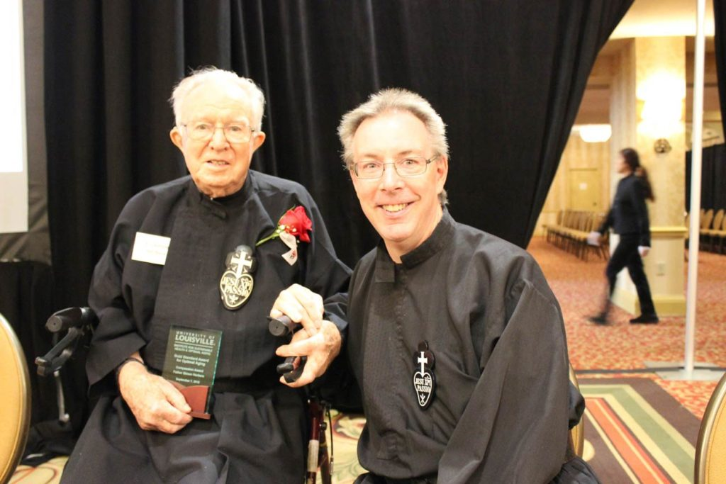 Fr. Simon Herbers, CP, and Fr. David Colhour, CP.