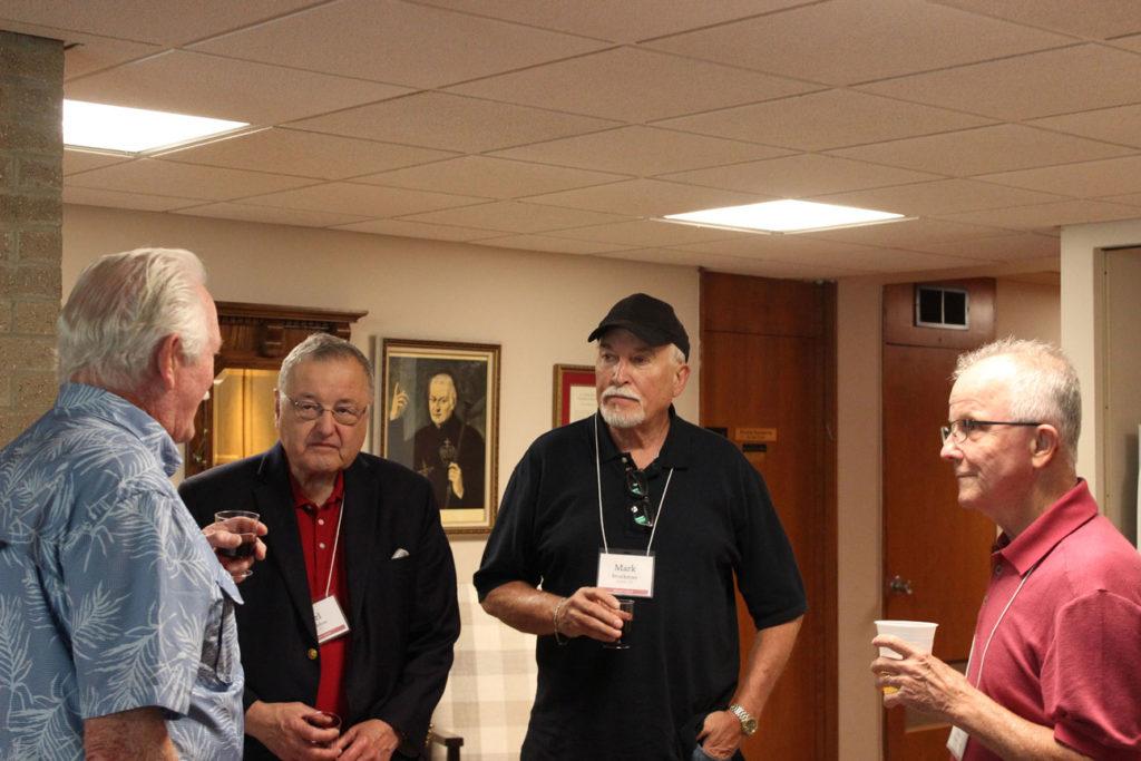 (l-r): Tom Mugavin, Carl Middleton, Mark Brockman and Tony Medley.