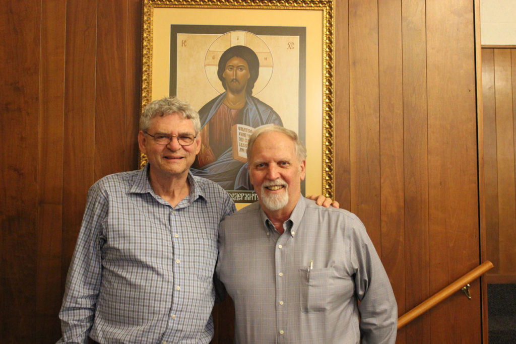 Fr. Joe Moons, CP, and Bill Berger.