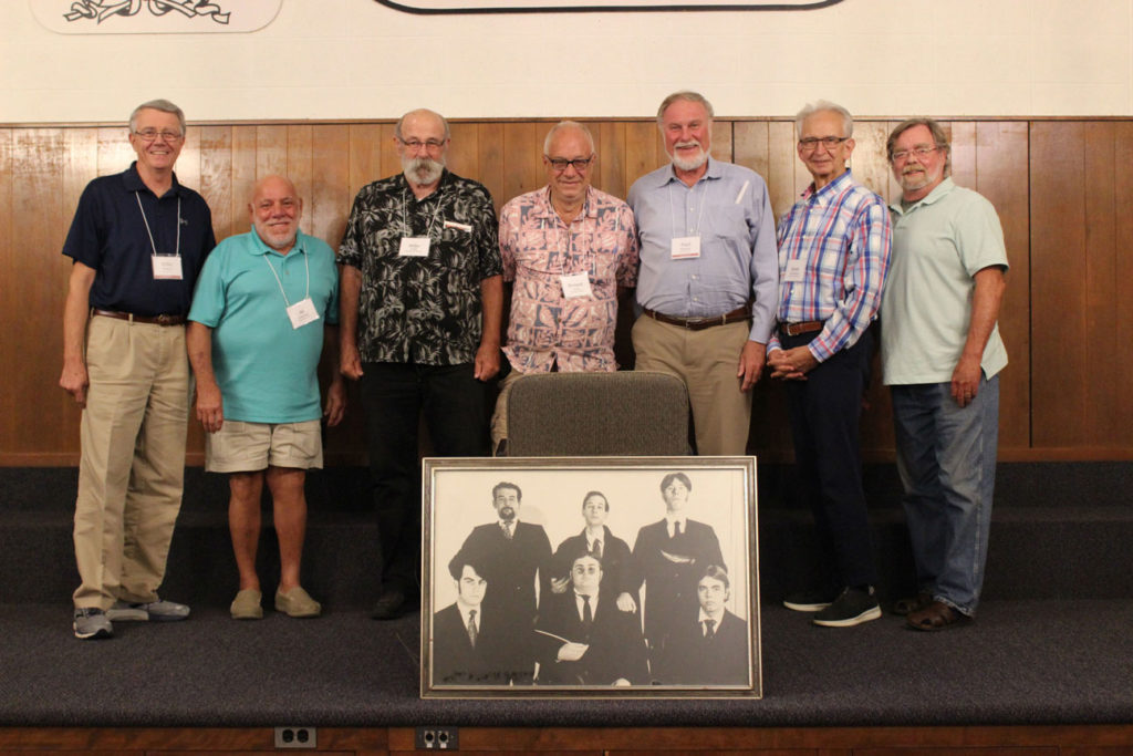 (l-r): Mike Owens, Al Cucchetti, Mike Clark, Roland Kulla, Paul Schulte, Scott Woodward and Jim Ryan.