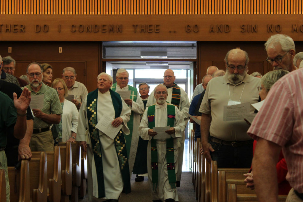 Fr. John Schork, CP, was the main celebrant. Concelebrants were Fr. Peter Berendt, CP; Fr. Bob Weiss, CP; Fr. Bob Knight; Fr. Richard Crager, SDB; and Fr. Phil Paxton, CP.