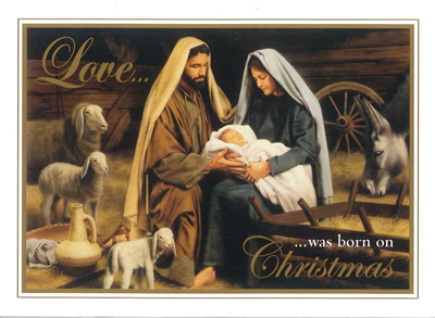 Christmas - Holy Family front