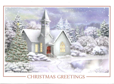 Christmas - Scenic front